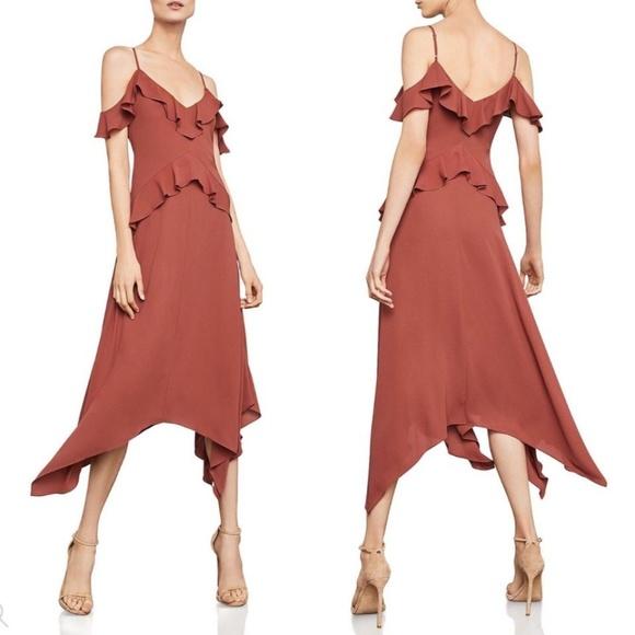 e3eedfa3e150 BCBGMaxAzria Dresses | Lissa Asymmetrical Handkerchief Dress | Poshmark